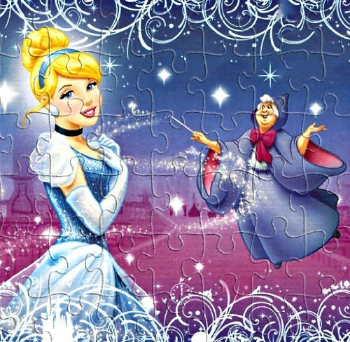 Disney Princess Cinderella Puzzle, 48 pc. - 1
