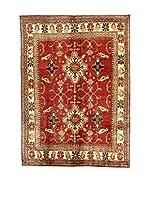 L'Eden del Tappeto Alfombra Uzebekistan Rojo / Beige 355  x  260 cm
