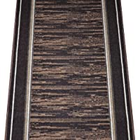 Dean Washable Carpet Rug Runner - Boxer Chocolate - Purchase By the Linear Foot