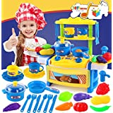 Toys Bhoomi Dream Kitchen Interactive Little Chef Kids Simulation Cookware Play Set With Light & Sound - B0731JQJ7Q