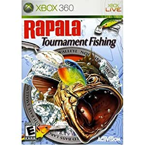 Rapala tournament fishing xbox 360 artist for Xbox fishing games