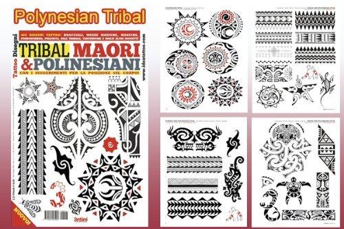 Polynesian Tribal Tattoo Meanings Book