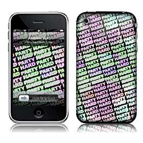 Music Skins iPhone 3G/3GS�p�t�B����  Andrew WK - Party Hard Multi Color  iPhone 3G/3GS   MSRKIP3G0279