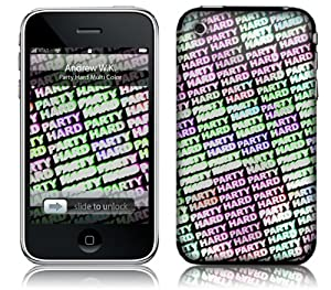 Music Skins iPhone 3G/3GS用フィルム  Andrew WK - Party Hard Multi Color  iPhone 3G/3GS   MSRKIP3G0279