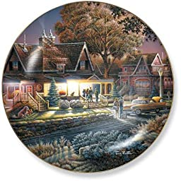 His First Good Bye by Terry Redlin 8.25 inch Decorative Collector Plate
