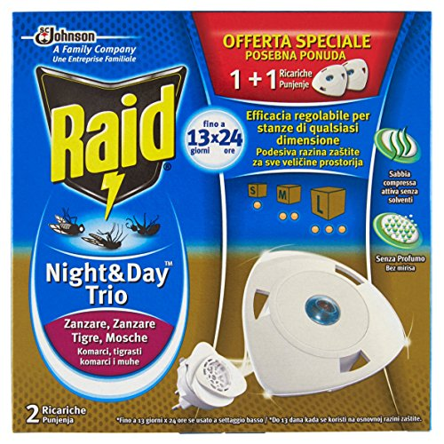 Raid Night & Day Trio - 2 Ricariche