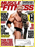 img - for MUSCLE & FITNESS Magazine April 2016 - Strong at 46 WWE Champ TRIPLE H Cover book / textbook / text book