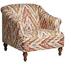 Avery Chevron Arm Chair