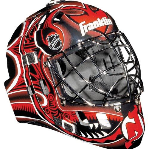 Franklin Sports New Jersey Devils NHL Team SX Comp GFM 100 Goalie Mask