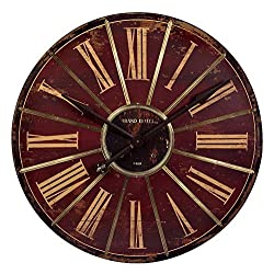 IMAX 16077 Large Red Wall Clock