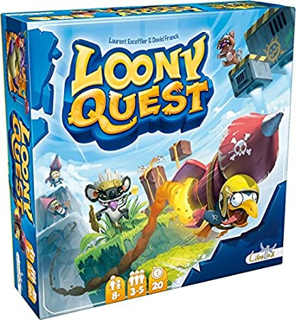 Asmodee - LIBQUFR - Jeu d'ambiance - Loony Quest