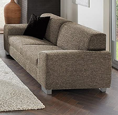 Bochum Macchiato Fabric 3Seater Sofa