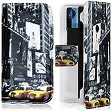 Seluxion Housse Coque Etui Portefeuille pour Nokia Lumia 520 Motif