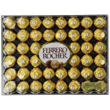 Ferrero Rocher Chocolate, Flat, 48 Count