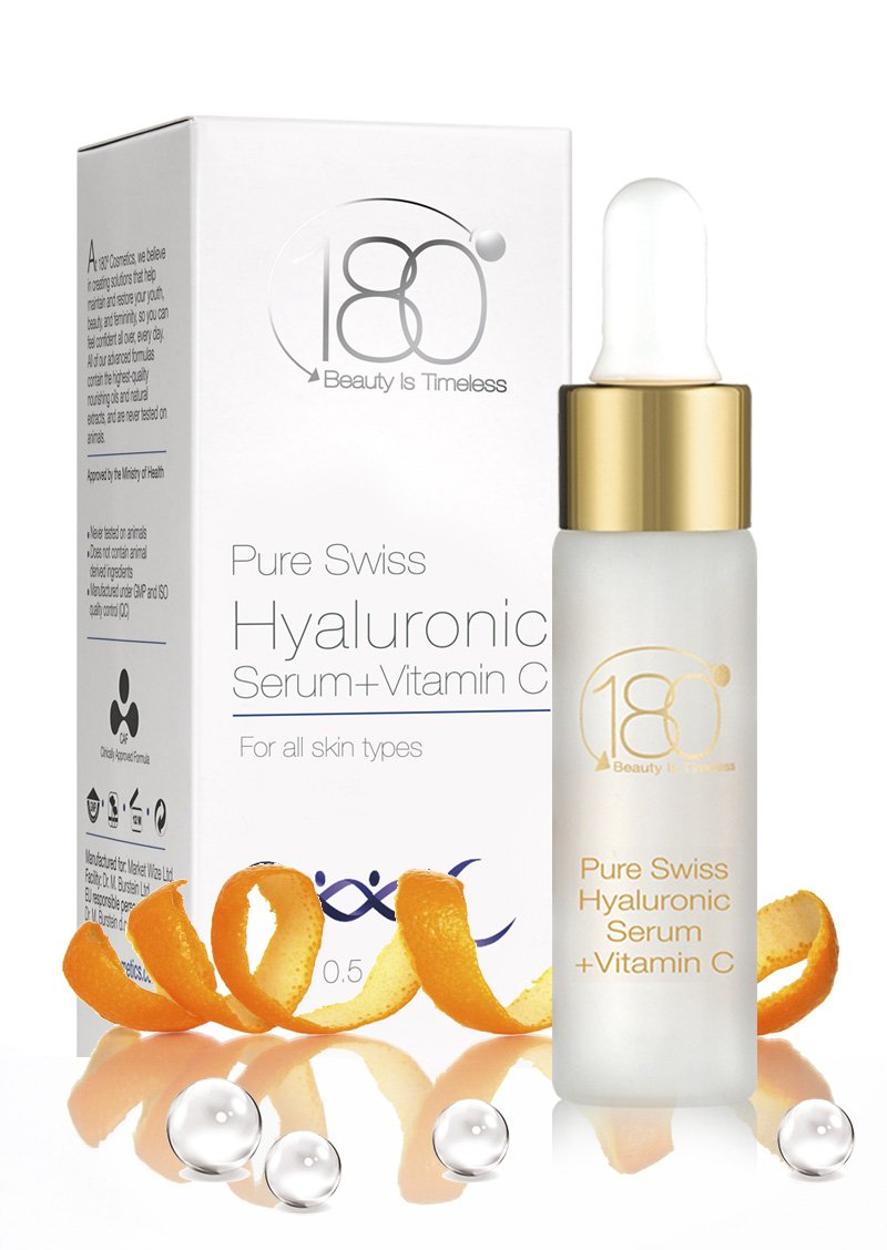 Black Friday Deal - 180 Cosmetics Hyaluronic Acid and Vitamin C - Best facial serum in health and beauty - Reduce wrinkles  ..
