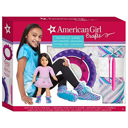 American Girl Slippers Knitting Kit (American Doll Sewing Kit compare prices)