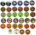 Crazy Cups Extra Bold Sampler, Single-cup coffee for Keurig K-Cup Brewers (Pack of 35) by Crazy Cups