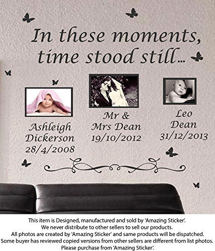 large-in-these-moments-time-stood-still-wall-quote-stickers-wall-decal-words-lettering-black