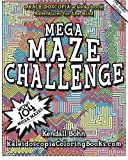 img - for MEGA MAZE CHALLENGE: A Kaleidoscopia Activity Book: Adventures for the mind book / textbook / text book
