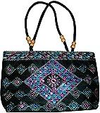 Czds India Women's Black Handbag (BAG-56)