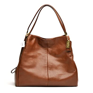 Coach Madison Leather Phoebe Shoulder Bag Review 34