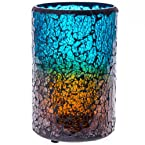 Crackle Mosaic Candle Holder