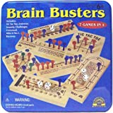 61qWkCiVPmL. SL160  First Learning Brainbusters 7 Games in 1 Tin