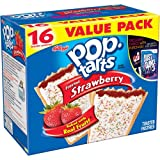 Kellogg's Pop-Tarts Frosted Strawberry, 16 ct