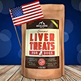 All Natural Liver Dog Treats - Made in USA Only - Best Slow-Smoked Beef Liver Dog Food in Pet Supplies - Great Dog Training Treats - Gluten-Free, Grain-Free Dog Treats - No Fillers or Preservatives - 16 oz. Bag - Health and Delicious Liver Treats Your Dogs Will Love, GUARANTEED