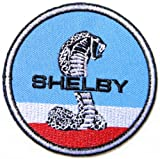 Ford Cobra Shelby Mustang Coupe GT500 Logo Racing Jacket T-shirt Patch Sew Iron on Embroidered Badge Emblem Sign