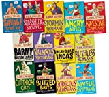 Terry Deary Horrible Histories Collection 13 Books Set Pack RRP: £77.87 (Savage Stone Age, Awesome Egyptians, Blitzed Brits, Ruthless Romans, Cut-Throat Celts, Smashing Saxons, Stormin Normans , Angry Aztecs, Incredible Incas) (Horrible Histories Collec
