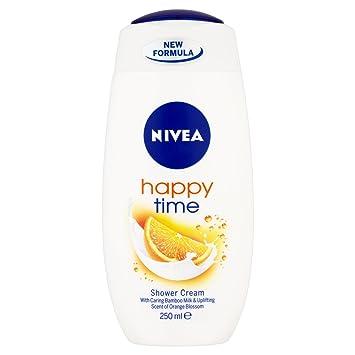 nivea happy time shower cream 250ml