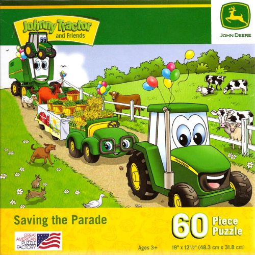 John Deere Jr. Saving the Parade, 60 Piece Jigsaw Puzzle (1 Each) - 1