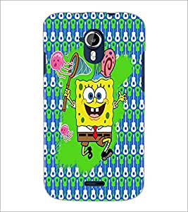 PrintDhaba Cartoon D-3506 Back Case Cover for MICROMAX A116 CANVAS HD (Multi-Coloured)