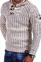 Tazzio - 14-404 - Pull-over en tricot avec capuche