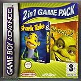 Shrek 2 & Shark Tale: (2 in 1 Game Pack) (GBA)