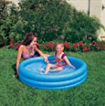 Intex Crystal Blue Three Ring Inflata...