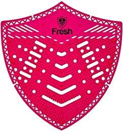 The Original Fresh Shield 10-pack (Spiced Apple) - Urinal Screens Deodorizer and Splash Guard