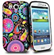 Accessory Master- Multi m�duses fleur Housse �tui en silicone pour Samsung galaxy S3 I9300