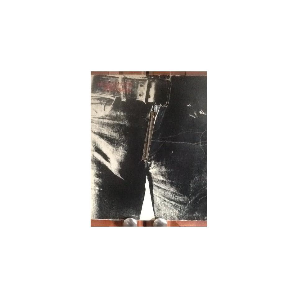 ROLLING STONES STICKY FINGERS VINTAGE VINYL RECORD ALBUM