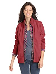 Carhartt Women\'s Dunlow Sweatshirt,Dark Red Heather (Closeout),Small