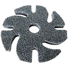 "JoolTool Scotch-Brite Unitized Abrasive Disc, Non Woven Web Backing, Aluminum oxide, 3"" Diameter"