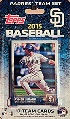 MLB San Diego Padres Licensed 2015 Topps® Team Set