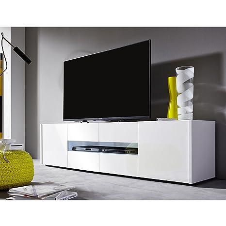 Lowboard TV-Board Kommode TV-Kommode Fernsehschrank Imola 4 Turen