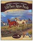 Reflective Art Wild Horses 550-Piece Jig...