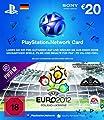 GRATIS PlayStation Live Card 20 Euro (Deutschland) im UEFA Euro 2012 Design (FIFA 12 Add-On nicht enthalten)