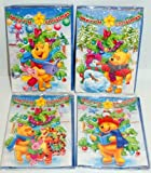 Disney Winnie The Pooh 3D Christmas Cards Set Of 4 Designs