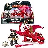 Dragones - Dragón y su entrenador - y Rustik Krochefer - Hookfang & Snotlout