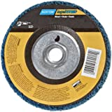 "Norton Non-Woven Depressed Center Rapid Strip Wheel, 4-1/2"" Diameter, 5/8""-11 Arbor Hub, Grit Coarse (Pack of 1)"
