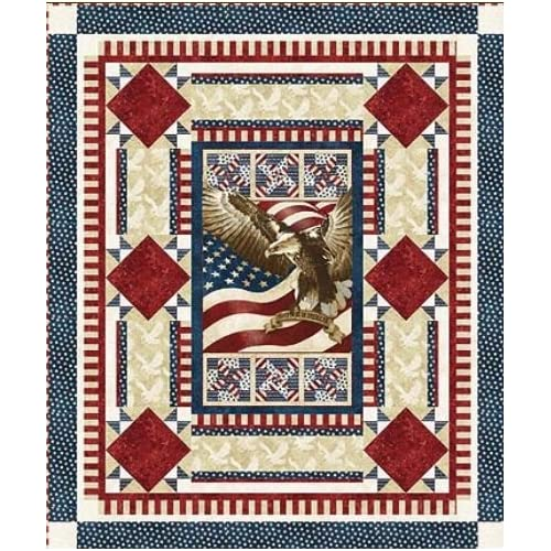 Amazon.com: Northcott 'Flight of the Eagle' Quilt of Valor Pattern